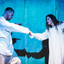 Фото из спектакля «Крепостная любовь»