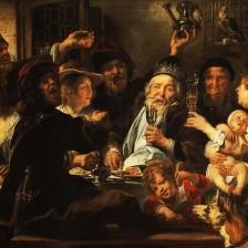 Якоб Йорданс «Бобовый король» 1665